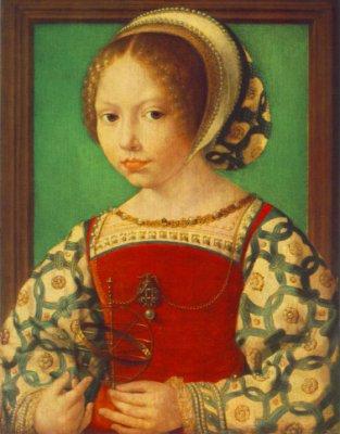Jeune femme avec un instrument astronomique 1520 Jan (Mabuse) Gossaert
