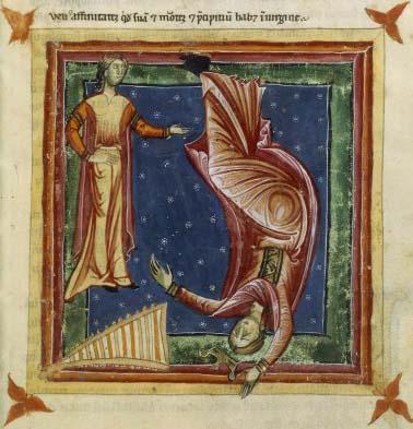 Vénus chute en Vierge