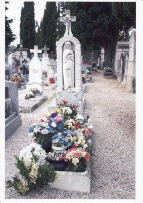 Tombe Marie-Bernard Rouyer à Castres