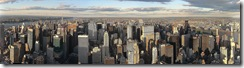 Empire State 360 Panorama by day