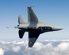 Air Force officials are set to deliver the first of 18 new F-16 Fighting Falcon jet fighters to the Pakistan air force. USAF Released.