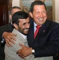 The Axis of Unity -  Venezuela's Hugo Chavez and Iran's Mahmoud Ahmadinejad in Tehran.