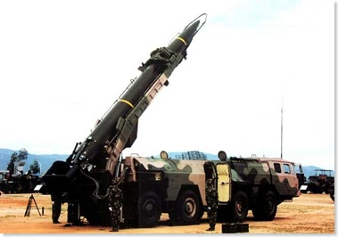Dong Feng 11 Missile